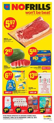 No Frills deals in the Toronto flyer