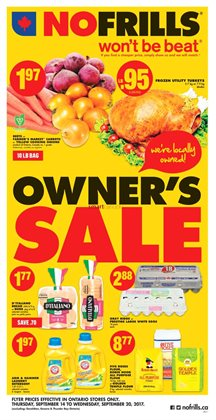 Grocery offers in the No Frills catalogue in Hamilton