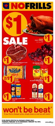 Grocery offers in the No Frills catalogue in Gatineau