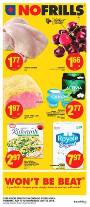 No Frills deals in the Kitchener flyer