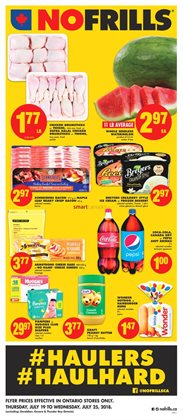 No Frills deals in the Ottawa flyer