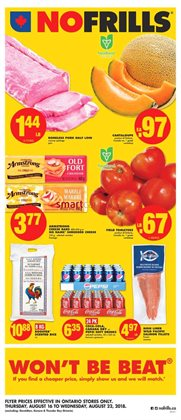 No Frills deals in the Sudbury flyer