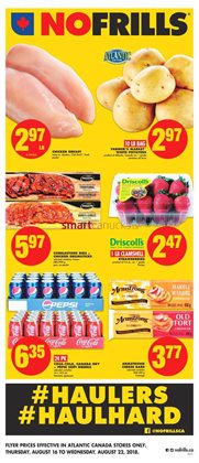 No Frills deals in the Halifax flyer