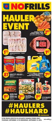 No Frills deals in the Charlottetown (Prince Edward Island) flyer