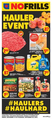 No Frills deals in the Victoria BC flyer