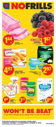 No Frills deals in the Mississauga flyer
