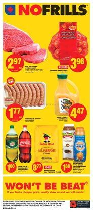 No Frills deals in the Calgary flyer