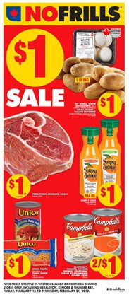 No Frills deals in the Winnipeg flyer