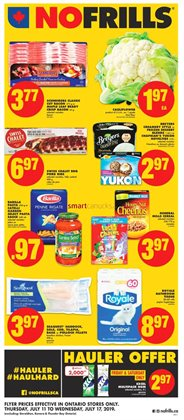 No Frills deals in the North York flyer