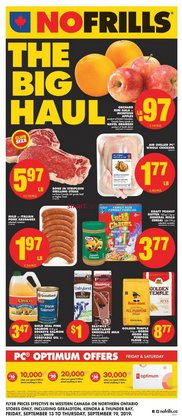 No Frills deals in the Edmonton flyer