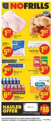 Grocery offers in the No Frills catalogue in Saint John