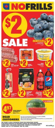 Grocery offers in the No Frills catalogue in Calgary ( Expires today )