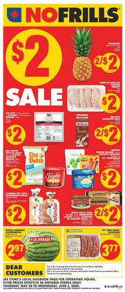 Grocery offers in the No Frills catalogue in Ottawa ( Published today )