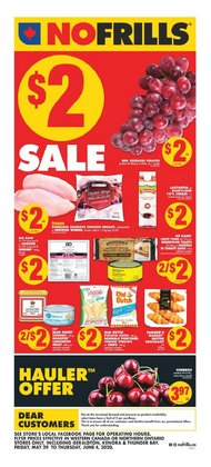 Grocery offers in the No Frills catalogue in Edmonton ( Expires today )