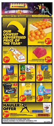 No Frills catalogue ( Expires tomorrow )
