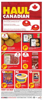 Grocery offers in the No Frills catalogue ( 2 days left )