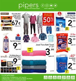 Pipers deals in the St. John's flyer