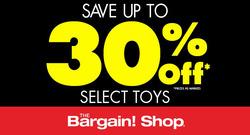 The Bargain Shop deals in the Winnipeg flyer
