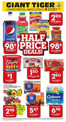 Giant Tiger deals in the Ottawa flyer
