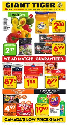 Giant Tiger deals in the Chatham-Kent flyer