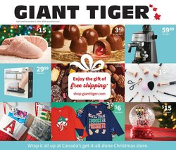 Giant Tiger catalogue ( Published today )