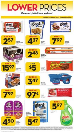 Grocery deals in the Giant Tiger catalogue ( 12 days left)
