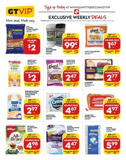 Giant Tiger deals in the Giant Tiger catalogue ( Expires today)