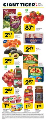 Grocery deals in the Giant Tiger catalogue ( Expires today)
