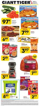 Grocery deals in the Giant Tiger catalogue ( Expires tomorrow)