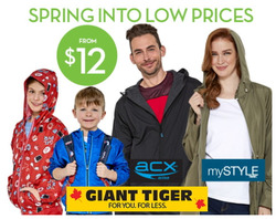 Giant Tiger deals in the Truro flyer