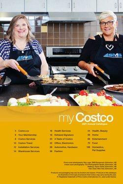 Costco catalogue ( More than a month)
