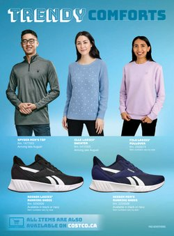 Reebok deals in the Costco catalogue ( 26 days left)