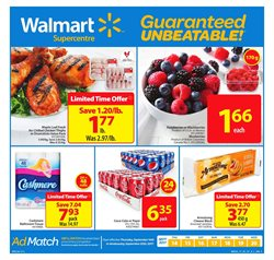 Walmart deals in the Edmonton flyer