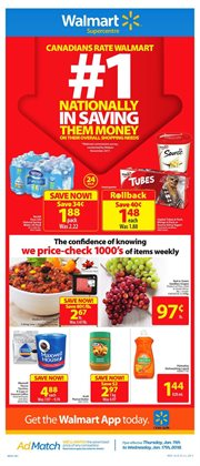 Walmart deals in the Quebec flyer
