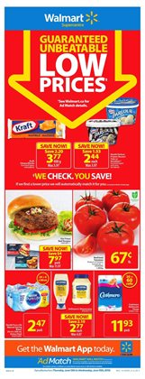 Walmart deals in the Chatham-Kent flyer
