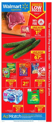 Walmart deals in the Montreal flyer