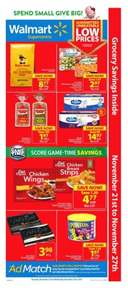 Grocery offers in the Walmart catalogue in Drummondville