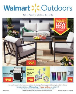 Walmart catalogue ( More than a month )