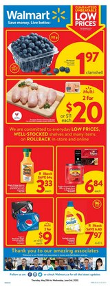 Grocery offers in the Walmart catalogue in Chilliwack ( Expires today )