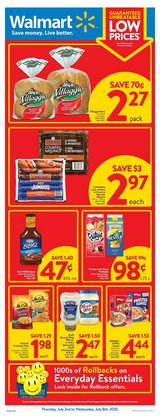 Grocery offers in the Walmart catalogue in Hamilton ( Expires tomorrow )