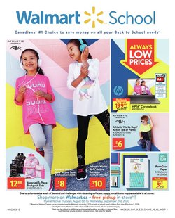 Walmart catalogue in Edmonton ( Published today )