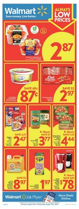 Grocery offers in the Walmart catalogue in Edmonton ( 2 days ago )
