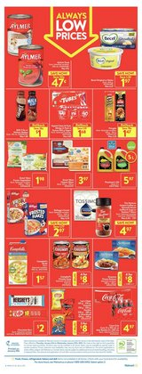 Grocery offers in the Walmart catalogue ( 2 days left )
