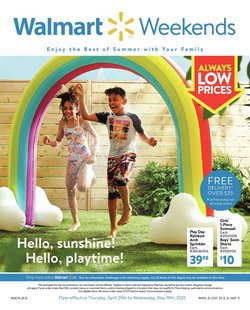 Walmart catalogue ( Published today)