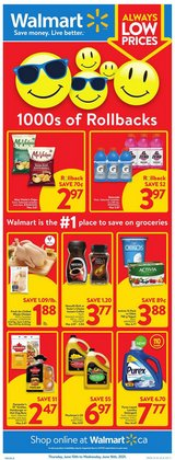 Walmart catalogue ( Expires today)