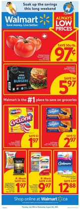 Grocery deals in the Walmart catalogue ( Expires tomorrow)