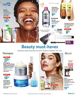 Neutrogena deals in the Walmart catalogue ( Published today)
