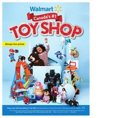 Walmart catalogue ( More than a month)