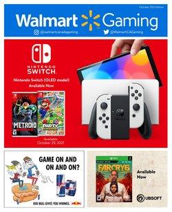 Walmart deals in the Walmart catalogue ( More than a month)