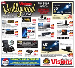 Visions Electronics deals in the Richmond Hill flyer